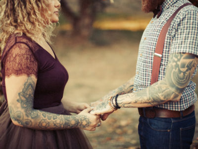 Un shooting mariage automnale au Nomah